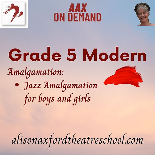 Grade 5 Modern - 7th Video - Jazz Amalgamation