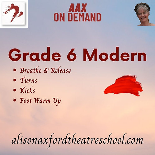 Grade 6 Modern - 5th Video