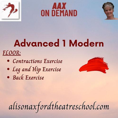 Advanced 1 Modern - 2nd Video - Floor