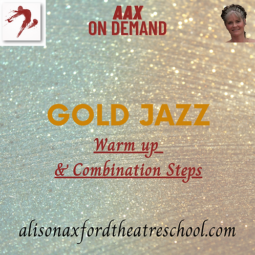 Gold Jazz Award - Warm up and Combinations Steps