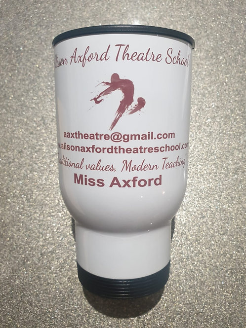 Personalised AAX Travel Mug - see below for 'Name' instruction
