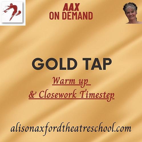Gold Tap Award - 1 - Warm up and Close work Timestep