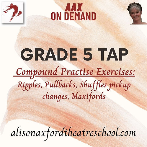 Grade 5 Tap - 3 - Compound Practise steps Video