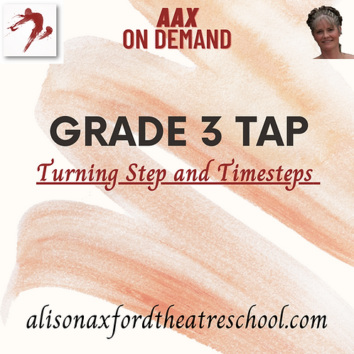 Grade 3 Tap - 4 - Turning Step & Timesteps