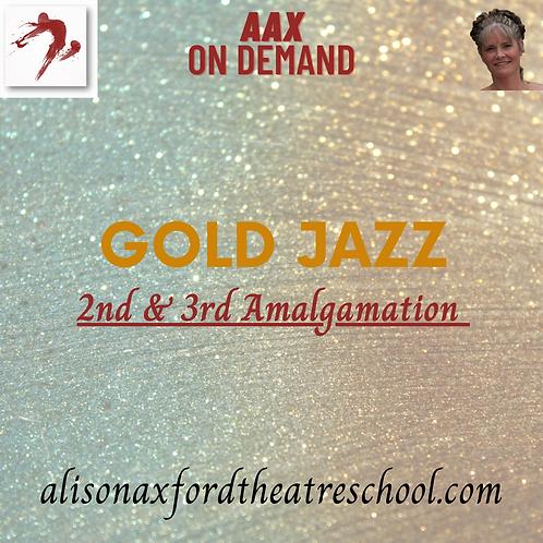 Gold Jazz Award - 2nd & 3rd Amalgamation