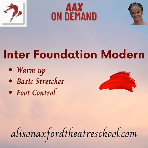 Inter Foundation Modern - 1st Video