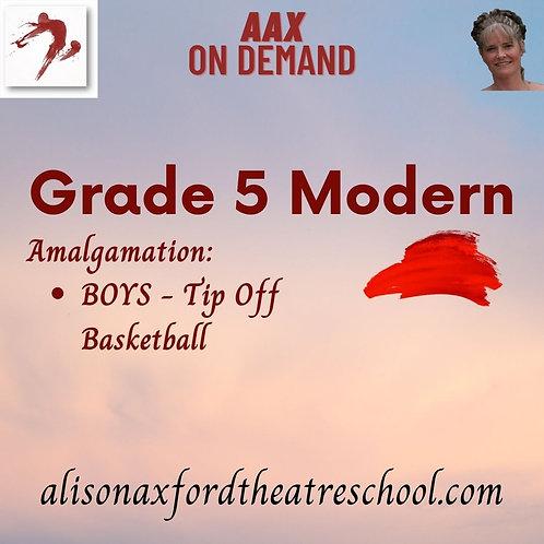 Grade 5 Modern - 9th Video - Boys Tip Off Amalgamation