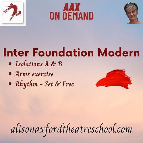 Inter Foundation Modern - 4th Video
