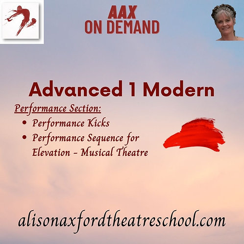 Advanced 1 Modern - 7th Video