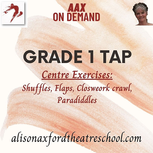 Grade 1 Tap - 2 - Centre Exercises Video