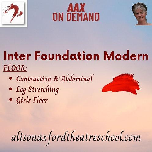 Inter Foundation Modern - 2nd Video - Floor