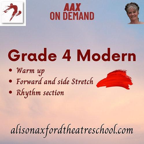 Grade 4 Modern - 1st Video