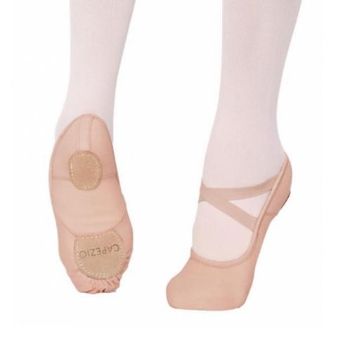 LIGHT SUNTAN Capezio Cobra Canvas Ballet shoes