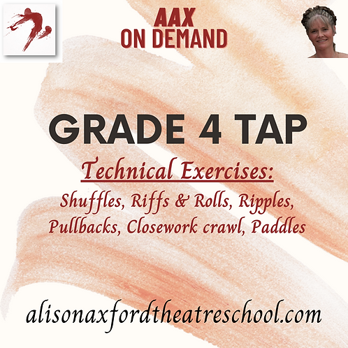 Grade 4 Tap - 2 - Technical Exercises Video