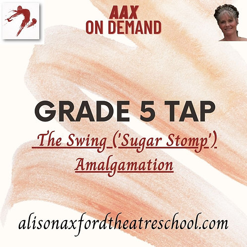 Grade 5 Tap - 6 - Sugar Stomp Amalgamation & The Bow Routine