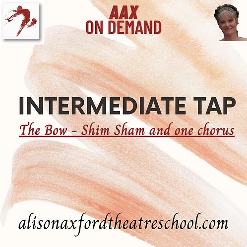 Intermediate Tap - 9 -  Shim Sham Bow Video