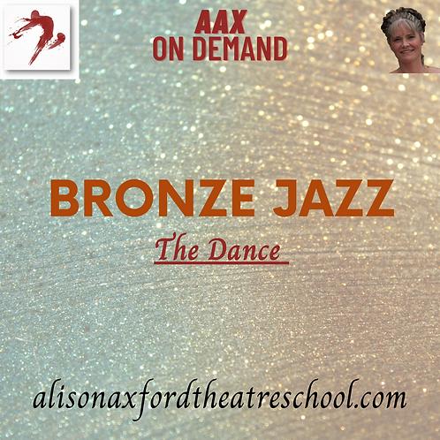 Bronze Jazz Award - The Dance