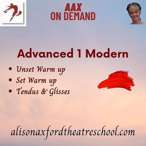 Advanced 1 Modern - 1st Video