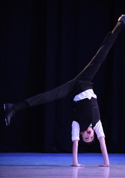 eden cartwheel tap solo