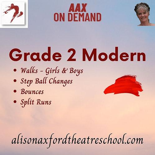 Grade 2 Modern - 4th Video