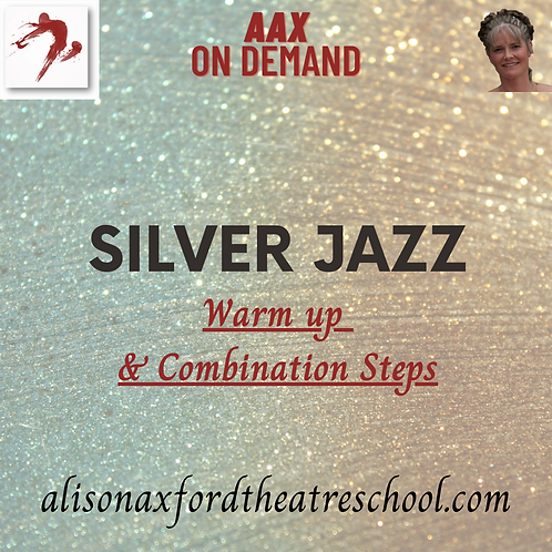 Silver Jazz Award - 1 - Warm up and Combinations Steps