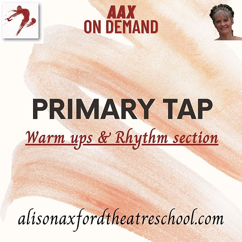Primary Tap - 1st video - Warm ups and Rhythm Exercises
