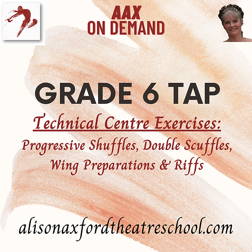 Grade 6 Tap - 2 - Technical Exercises Video