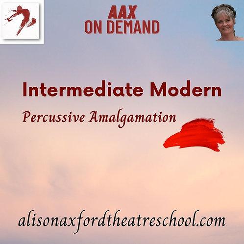 Intermediate Modern - 10th Video - Percussive Amalgamation