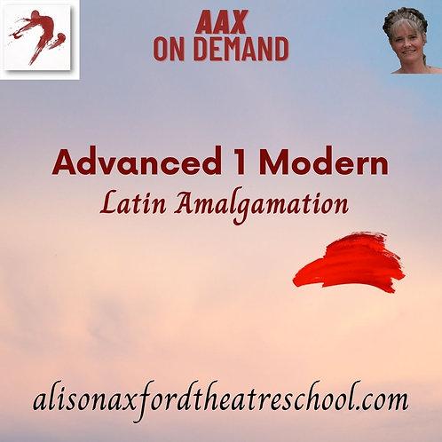 Advanced 1 Modern - 8th Video - Latin