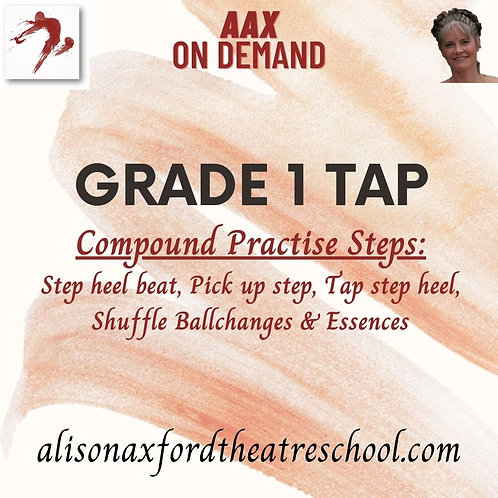 Grade 1 Tap - 3 - Compound Practise steps Video