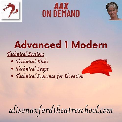 Advanced 1 Modern - 6th Video