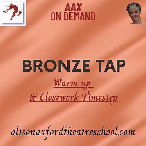 Bronze Tap Award - 1 - Warm up and Close work Timestep Vi
