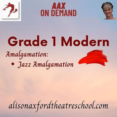 Grade 1 Modern - 5th Video - Jazz Amalgamation