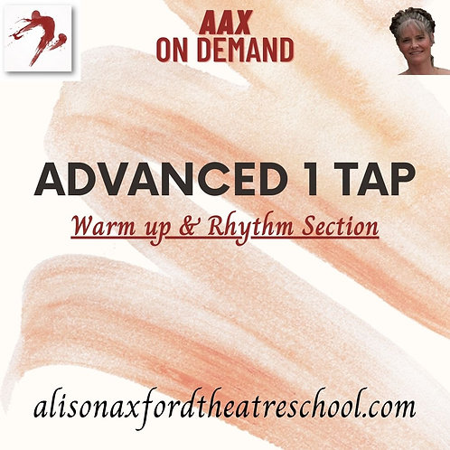 Advanced 1 Tap - 1 - Warm up and Rhythm Exercises Vi