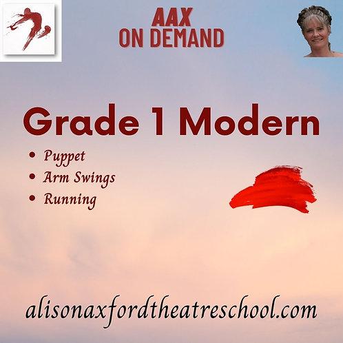 Grade 1 Modern - 3rd Video