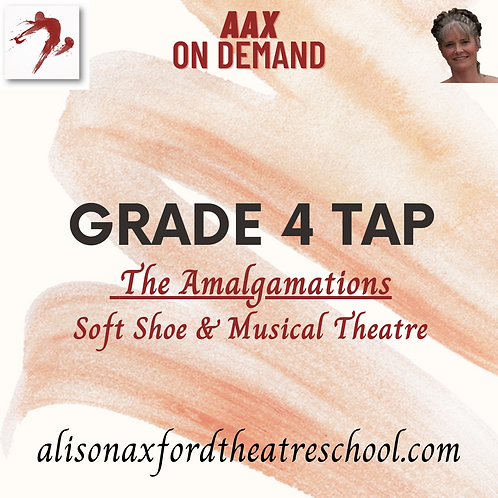 Grade 4 Tap - 4 - Amalgamations Video