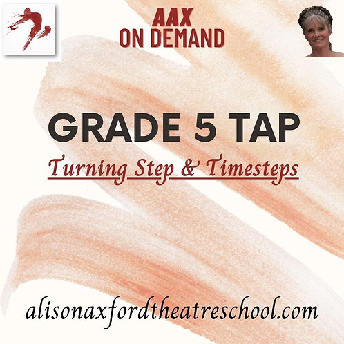 Grade 5 Tap - 4 - Turning Step & Timesteps