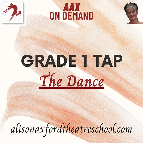 Grade 1 Tap - 5 - The Dance Video