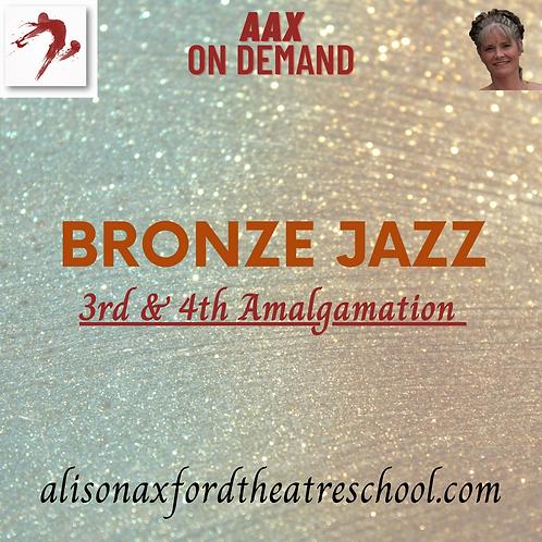 Bronze Jazz Award - 3rd & 4th Amalgamations