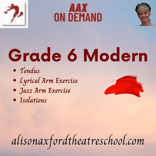 Grade 6 Modern - 4th Video
