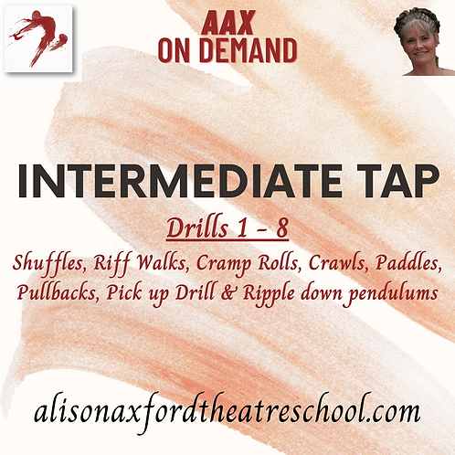 Intermediate Tap - 2 - Drills 1-8 Video