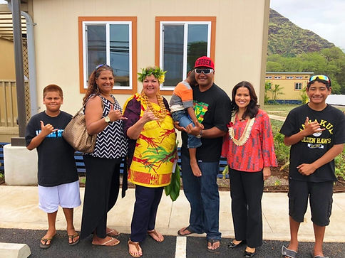 Picture of Residents at Kauhale Kamaile