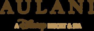 Logo for Aulani