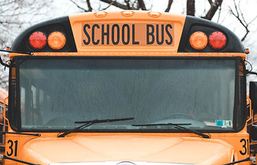 Image of a yellow school bus.