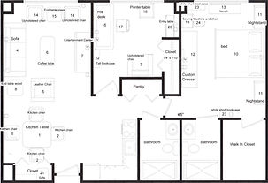 Furnished Floor Plans