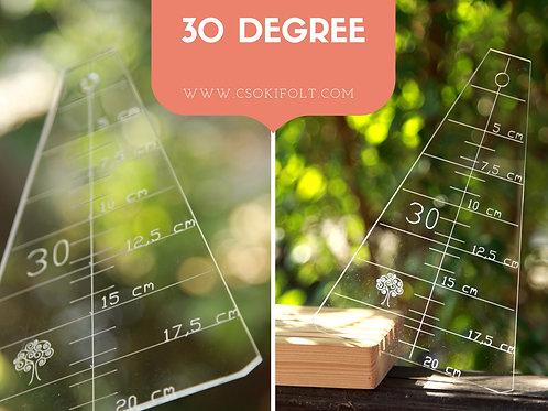 30 degree crumbler