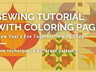 New Year's Eve Sewing Tutorial - 2020