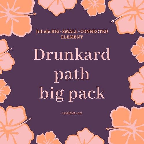 Drunkard path