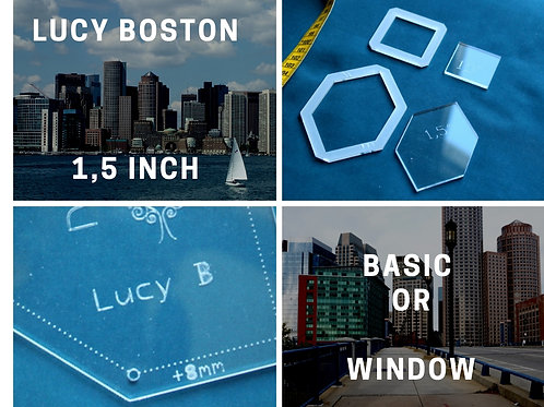 "Lucy Boston 1.5"" (window or basic)"