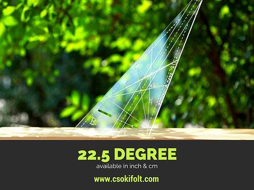 22,5 degree